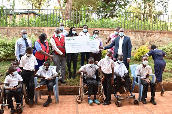 Visit to Jomo Kenyatta Childrens Home