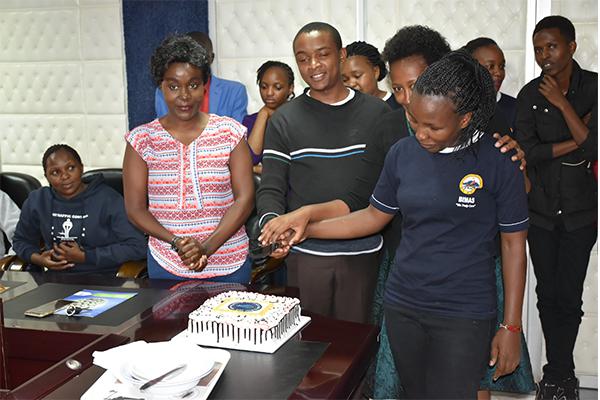 Safaricom Celebrates Customer service week day with  Bimas