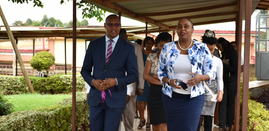 Handing Over Of Adopted Wards In Nyeri Provisional General Hospital