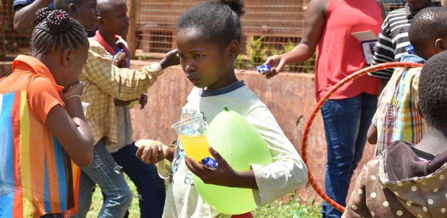 Visiting Of St. Stephen Childrens Home, Embu